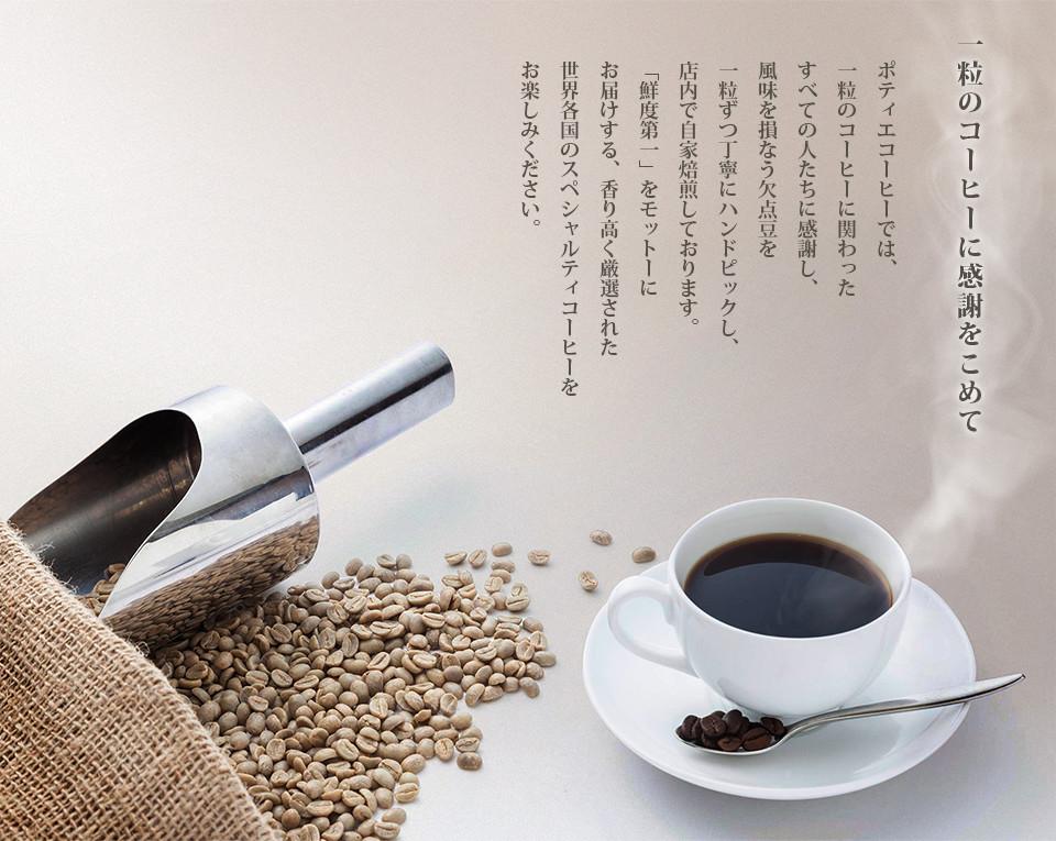 一粒のコーヒーに感謝をこめて